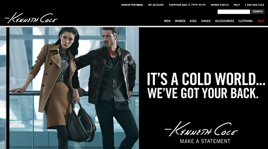 Kenneth cole discount coupon code