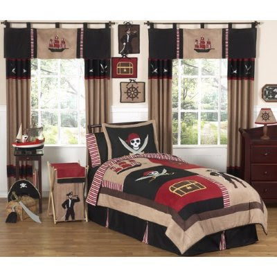 if you want to decorate your little pirate s bedroom than this bedding