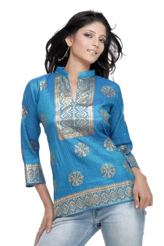 In winter we can have kurti made of Jute,Raw Silk,Crape & other heavy