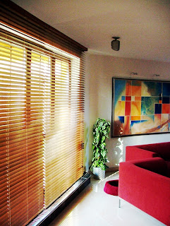 window bamboo blind