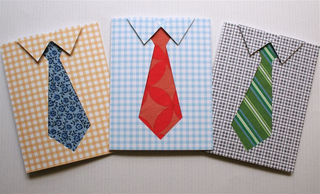 Father's Day Shirt and Tie Card Craft | Preschool ...