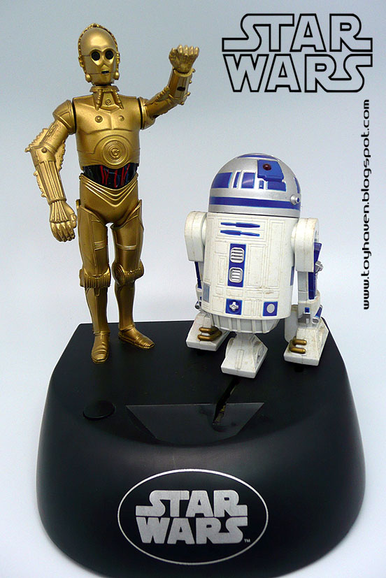 R2d2 And C3po Toys : Toyhaven star wars c po and r d electronic talking bank
