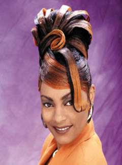 Prom Hairstyles Updos for Black Girls