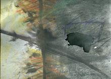 Death Line  Pastels, Oil Pastels