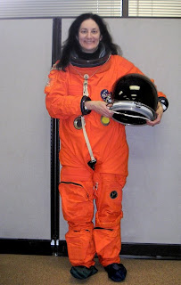 Susan in a Spacesuit. ©2007 by whoever took the photo.