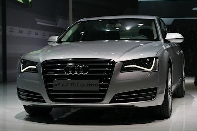 Audi A8 Prototype