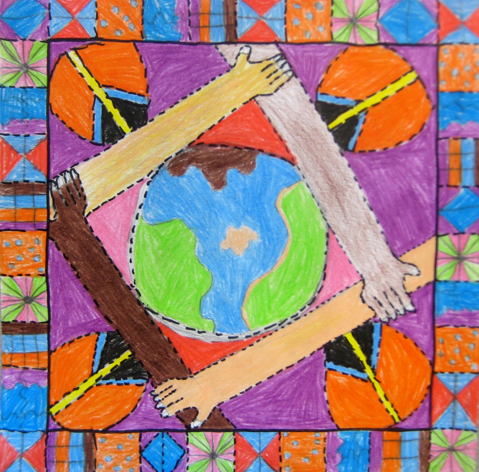 Experiments In Art Education Martin Luther King Jr Quilt Project