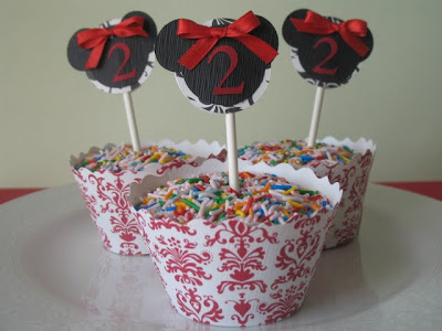birthday party mickey mouse. They were for a Mickey