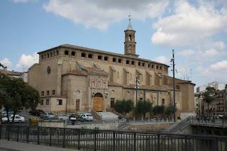 Iglesia de San Francisco de Asís en Barbastro (Somontano, Huesca, Aragón, España)