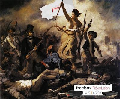 La Patate Chaude sponsor non officiel de la Freebox Révolution