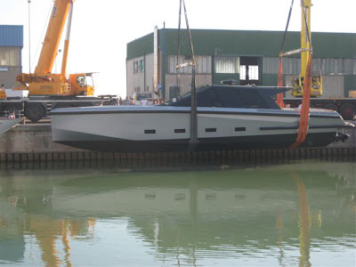 The first unit for the new version for this already innovative sports yacht ...