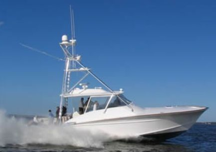This sleek 49 foot boat Express style Sportfish Cruiser as the title says is ...