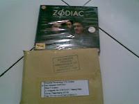 Dapet VCD The Zodiac