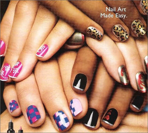 Nail Art Pictures: nail art pen design ideas