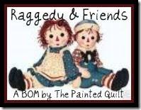 Raggedy & Friends BOM!