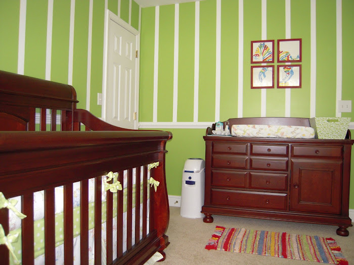 The Crib and Changing Table