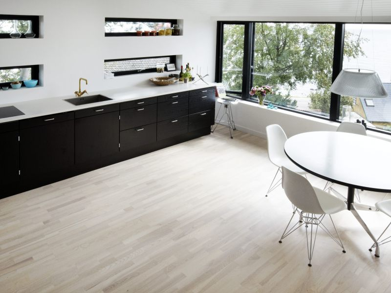 Elevation Wood Flooring : The north elevation spaces habel residence villa with a