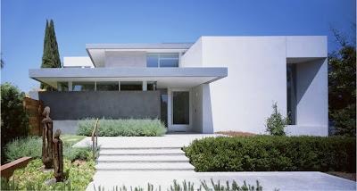 The north elevation spaces steven ehrlich architects - Limposante residence contemporaine de ehrlich architects ...