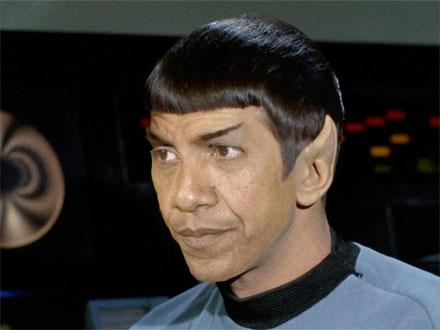 President Spock s behavior is