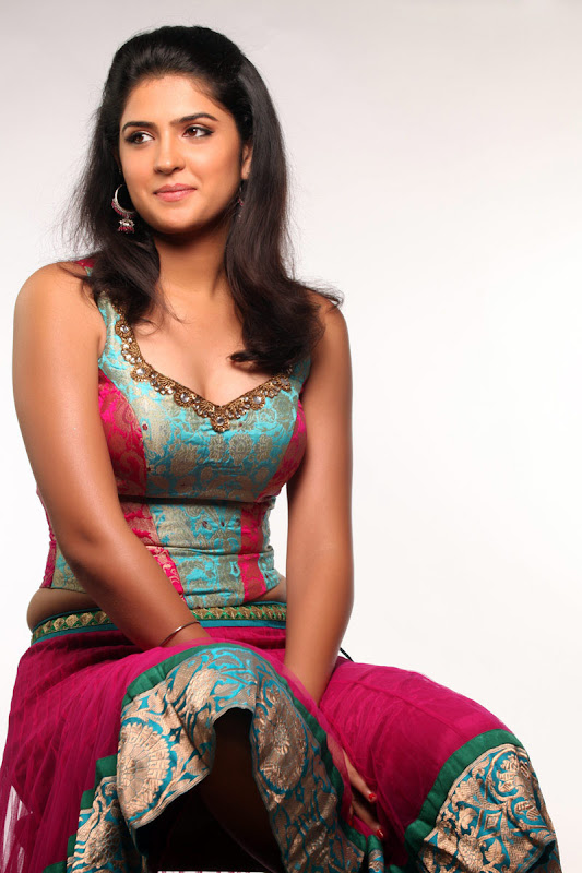 Actress Deeksha Seth In Wanted Movie Photo Gallery Photoshoot images
