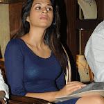 Shraddha Das in Tight Blue Dress Spicy Stills