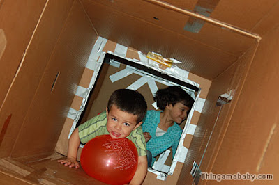 How to build a fun cardboard fort