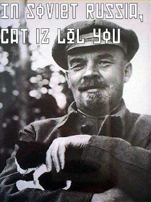 Soviet LOL cat