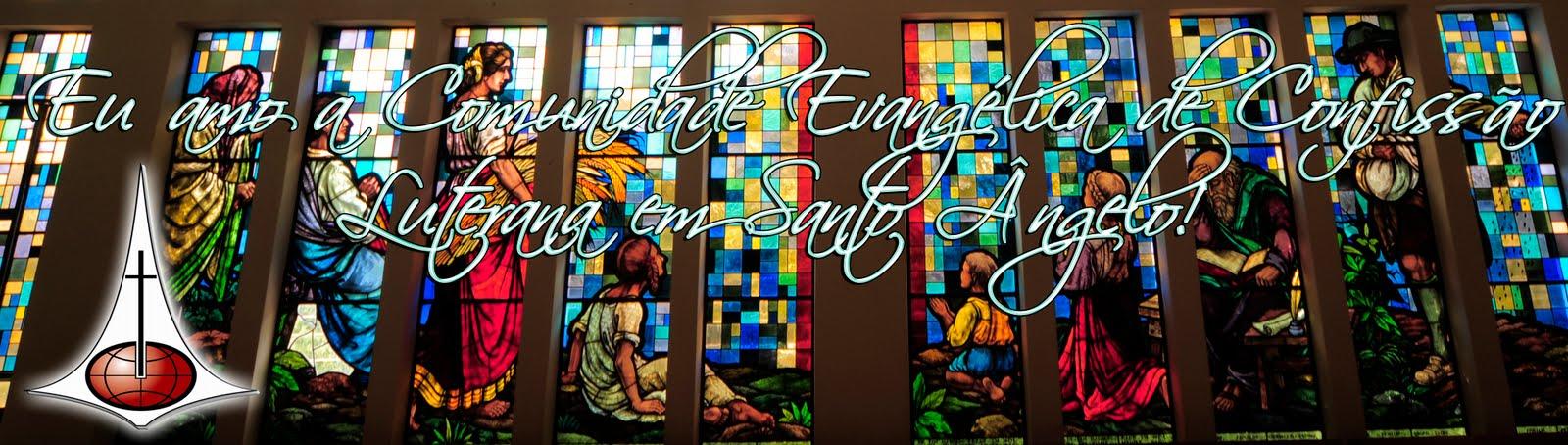 Eu amo a Comunidade Evangélica de Confissão Luterana em Santo Ângelo!