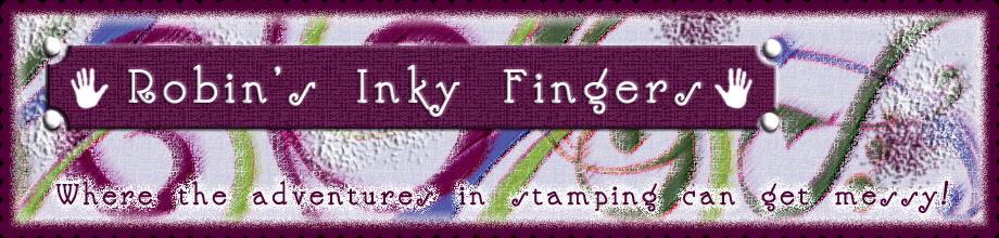 Robin's Inky Fingers
