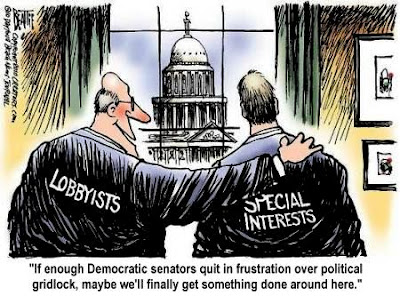Click Cartoon For Lobbyist Story