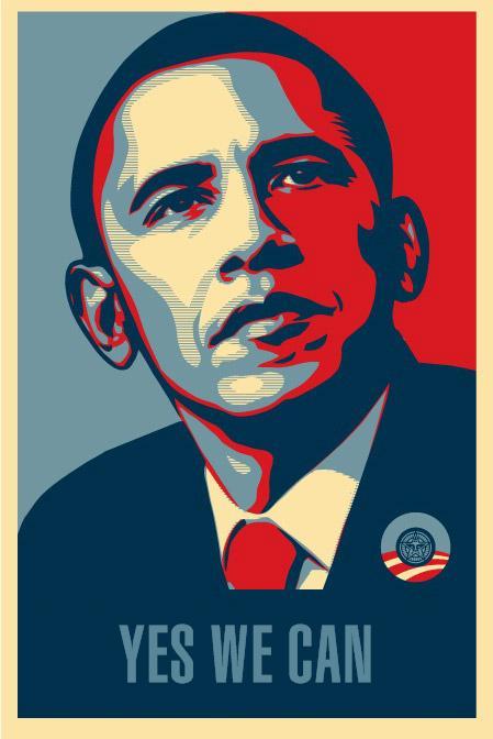 Quando um sonho se realiza. Obama-yes-we-can