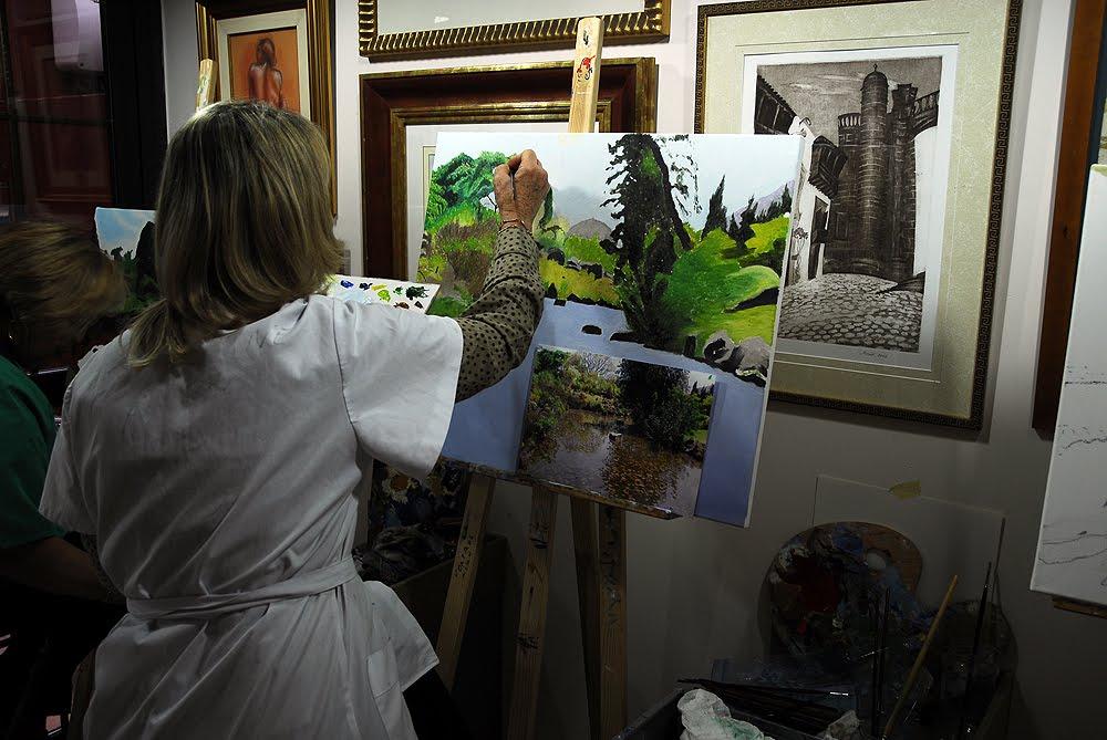 Clase de pintura en las palmas de gran canaria tafira 07 for Jardin canario horario