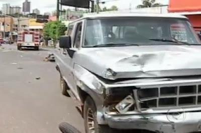 acidente em uberlandia Acidente em Uberlândia MG