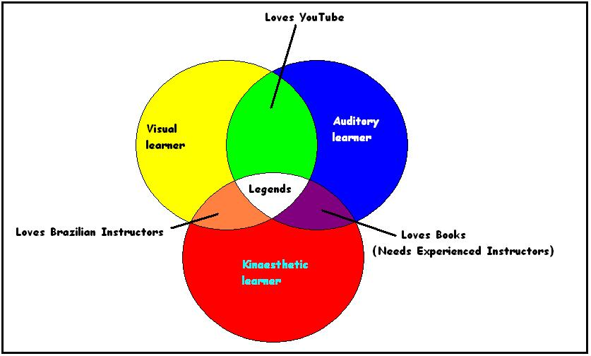 visual auditory kinesthetic learning styles test pdf