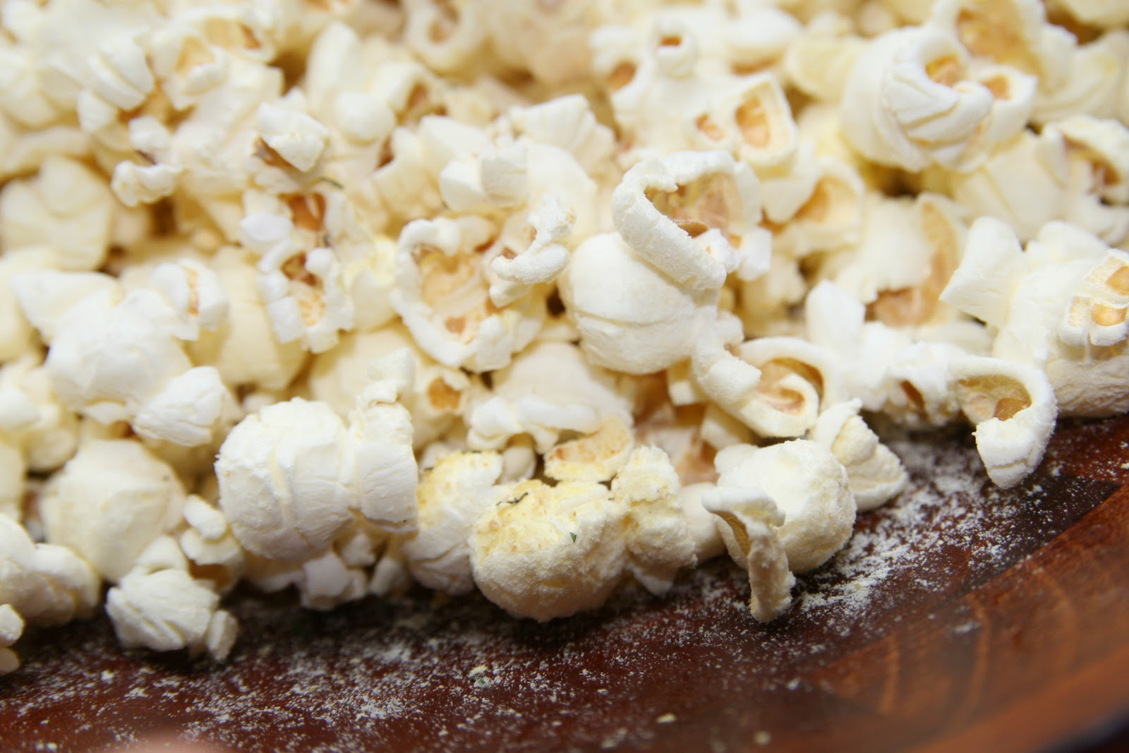 Haystacks & Champagne: Herbed Buttermilk Popcorn--WORTH the change ...