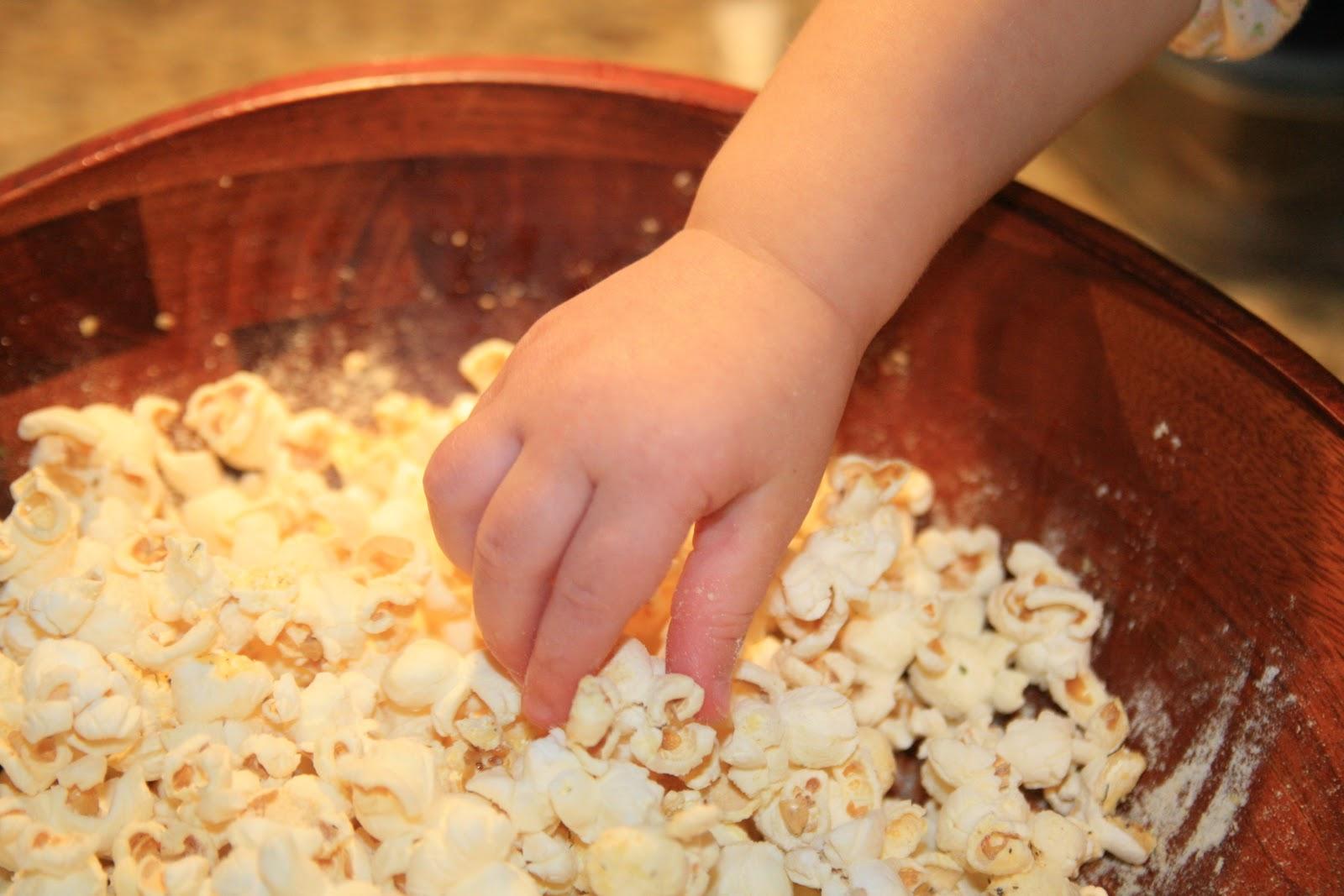 Haystacks & Champagne: Herbed Buttermilk Popcorn--WORTH ...