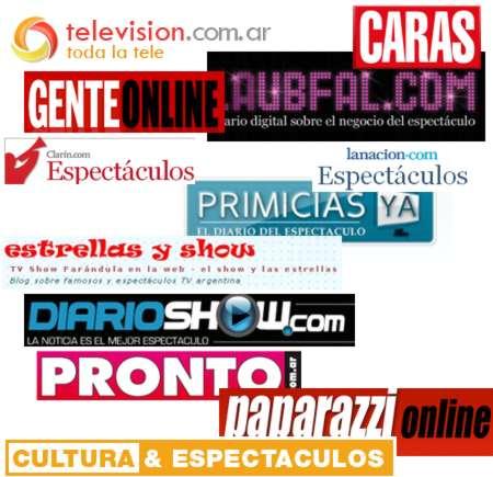 tv show noticias del espect culo argentino