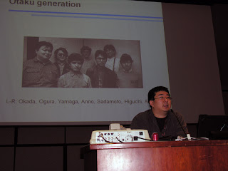 Lawrence Eng presents his panel, Old-School Gainax.