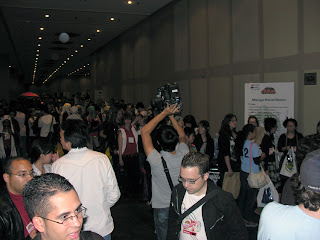 New York Anime Festival 2008 - quite crowded