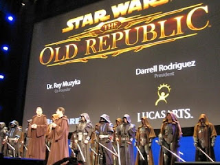 EA, Bioware, and LucasArts' presentation of Star Wars: Old Republic