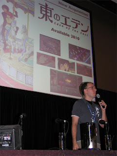 Adam Sheehan presents FUNimation's new license of Eden of the East