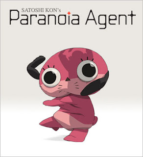 Maromi, the mascot character featured prominently in Paranoia Agent