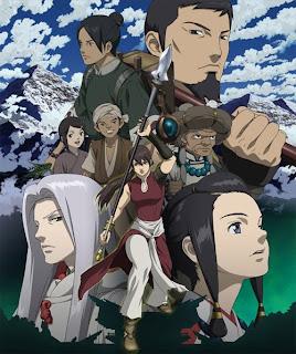 The cast of Seirei no Moribito