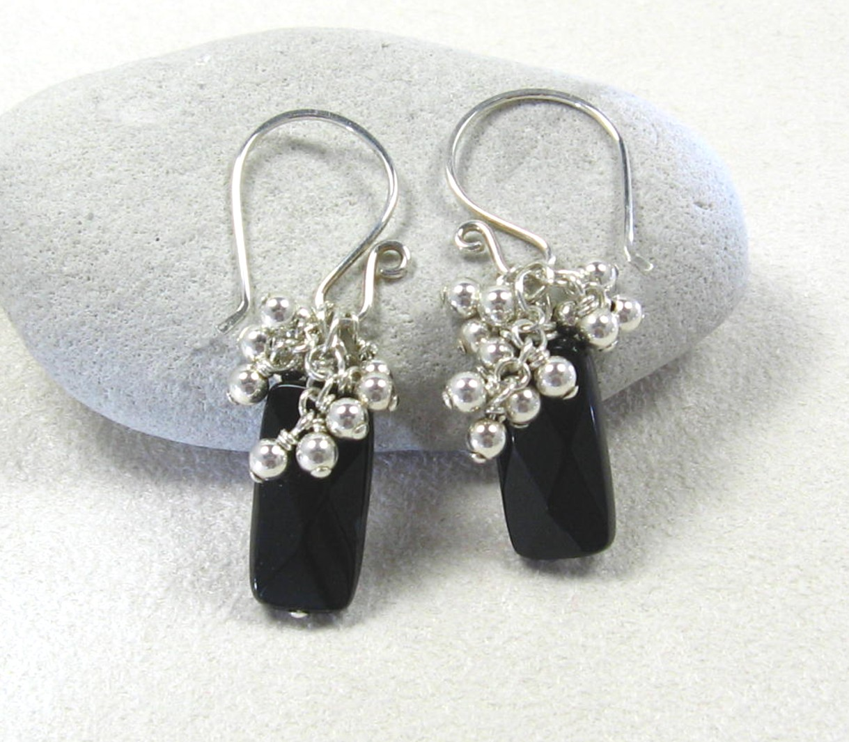 gracie jewellery handmade sterling silver black onyx