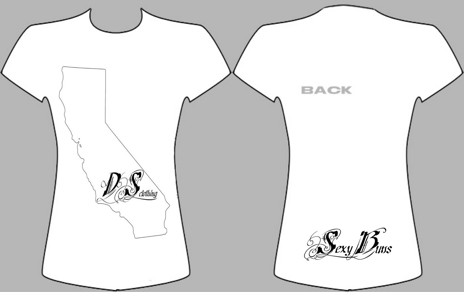 ladies black t shirt template - photo #19