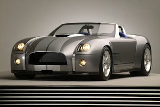 First Ford Shelby Cobra in Detroit Motor Show 2004