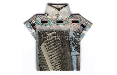 Рубашка из 10 рублей