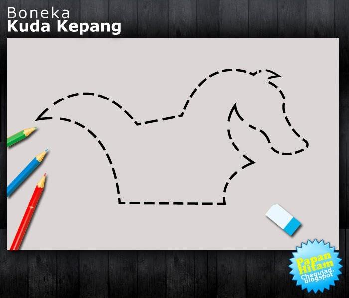 Mengagunkan gambar boneka kuda