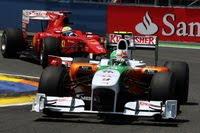 Force India Formula1 2010 Valencia