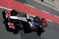 Button McLaren silverstone 2010